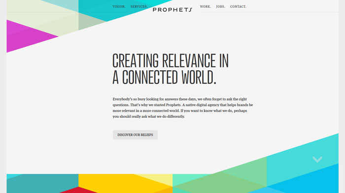 prophets be the importance of clean website design with examples