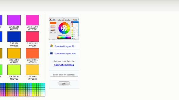 ColorSchemer - Online Color Scheme Generator