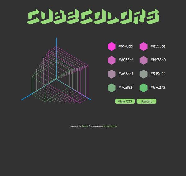 Cubecolors