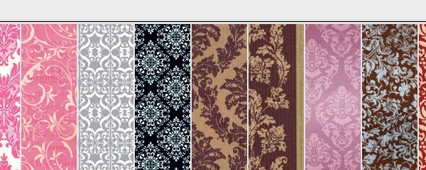 Victorian Colorful Free Seamless Tileable Pattern