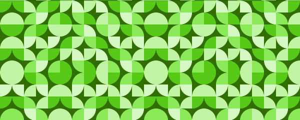 Green Deco Colorful Free Seamless Tileable Pattern