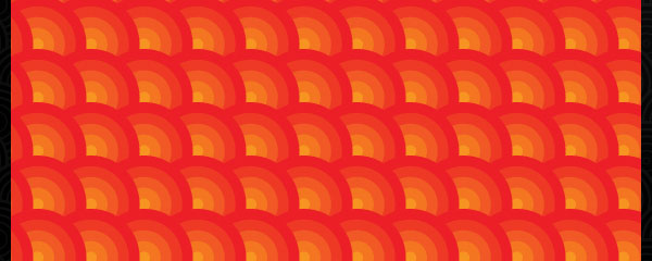 Orange Discs Colorful Free Seamless Tileable Pattern