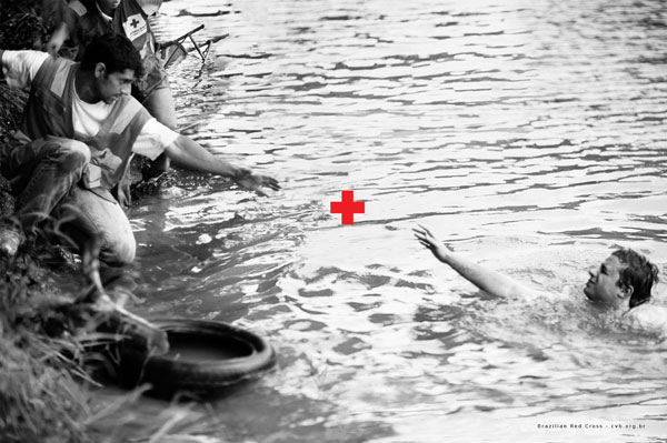 Brazilian Red Cross Print Ad Inspiration