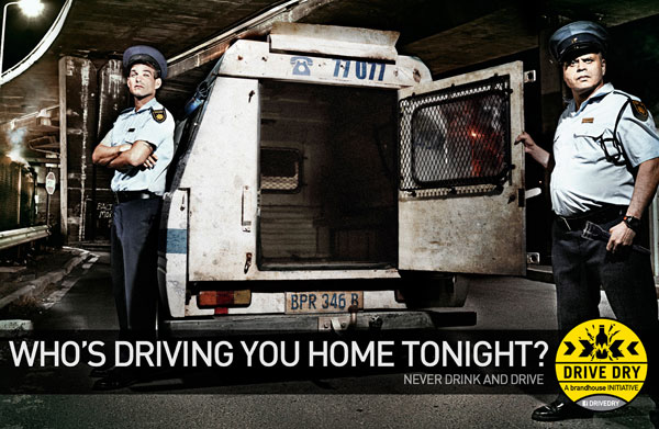 Who's driving you home tonight Print Ad Inspiration