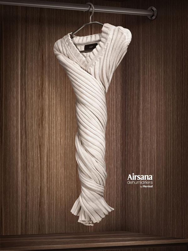 Airsana-dehumidifiers-por-Henkel Advertisement Ideas: 500 creativos y frescos anuncios