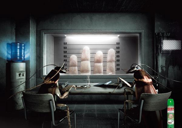 Ideas de publicidad Boss-Insecticide: 500 anuncios creativos y frescos