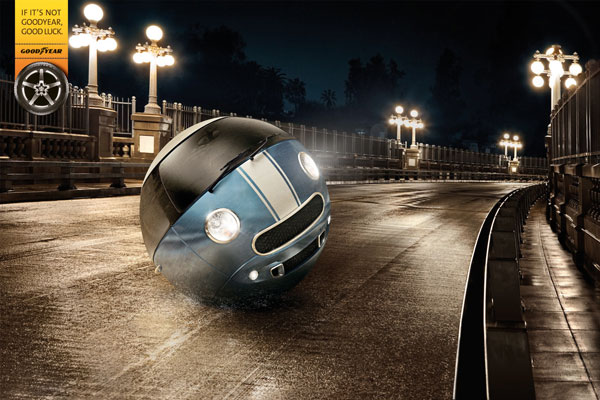 Ideas de publicidad If-its-not-Goodyear-good-luck: 500 anuncios creativos y divertidos
