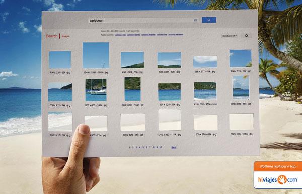 Nada reemplaza un viaje Ideas de publicidad: 500 anuncios creativos y divertidos