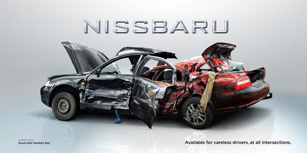 Disponibles-para-descuidados-conductores-en-todo-intersecciones Ideas de anuncios: 500 anuncios creativos y frescos