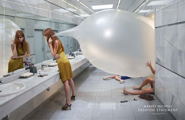 Harvey-Nichols --- Ideas publicitarias de declaración de moda: 500 anuncios creativos y geniales