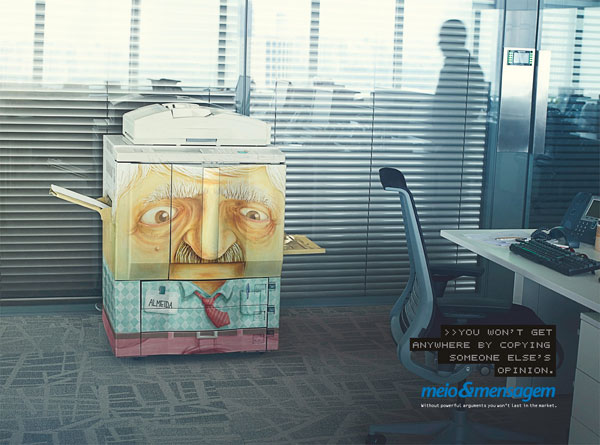Medio-e-mensaje Publicidad Ideas: 500 Creative and Cool Advertisements