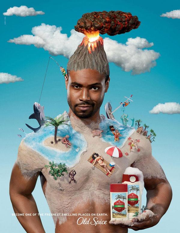 Old-Spice --- Fiji Advertisement Ideas: 500 anuncios creativos y geniales