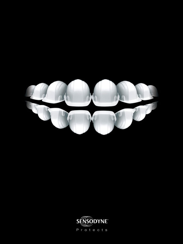 Sensodyne-Protects Advertisement Ideas: 500 anuncios creativos y geniales