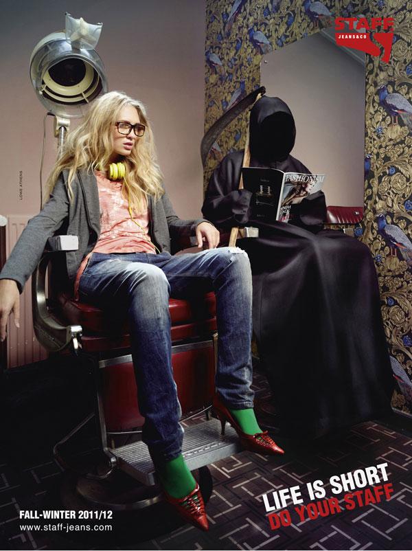 Ideas de publicidad de Staff-Jeans: 500 anuncios creativos y geniales
