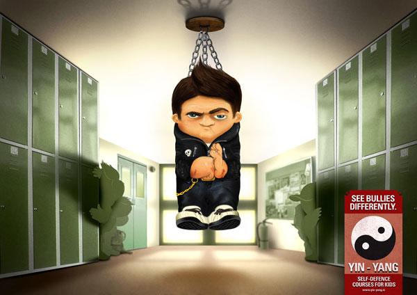 Ideas publicitarias de Yin-Yang-Martial-Arts-School: 500 anuncios creativos y geniales