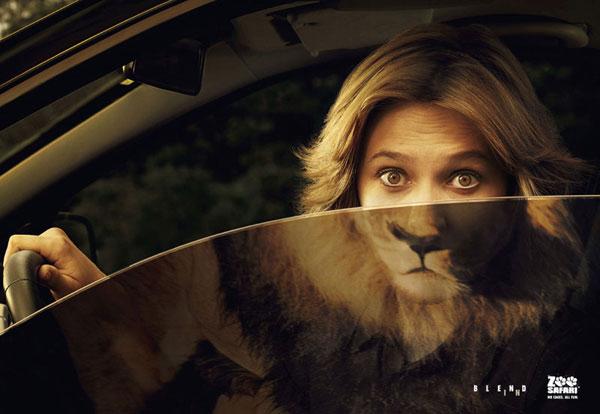 Zoo-Safari Advertisement Ideas: 500 anuncios creativos y geniales