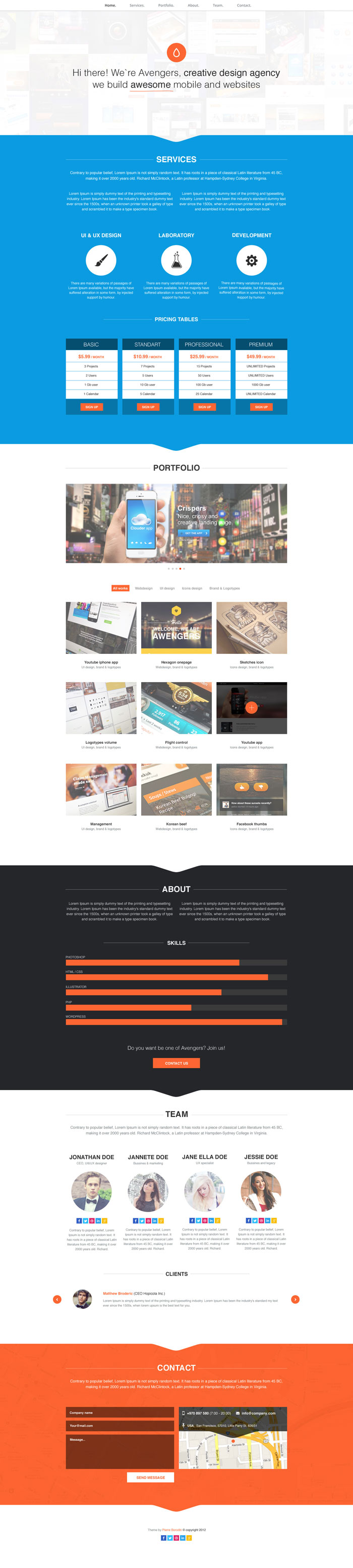 Creative And Modern Web Design Layouts For Inspiration