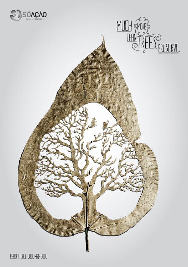 Mucho más que árboles. Advertisement Ideas: 500 anuncios creativos y geniales.