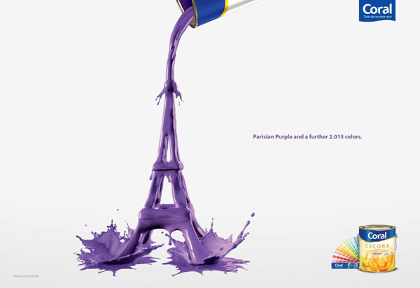 Parisian-Purple-and-a-further-2.015-colors Publicidad Ideas: 500 creativos y frescos anuncios