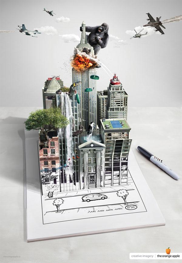 Ideas de publicidad de imágenes creativas: 500 anuncios creativos y geniales