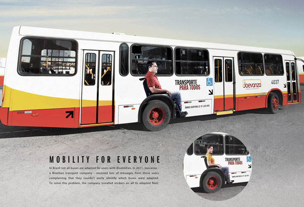 Mobility for Everyone Print Advertisement
