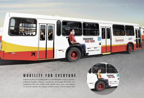 Ideas de publicidad de Mobility-for-Everyone: 500 anuncios creativos y geniales