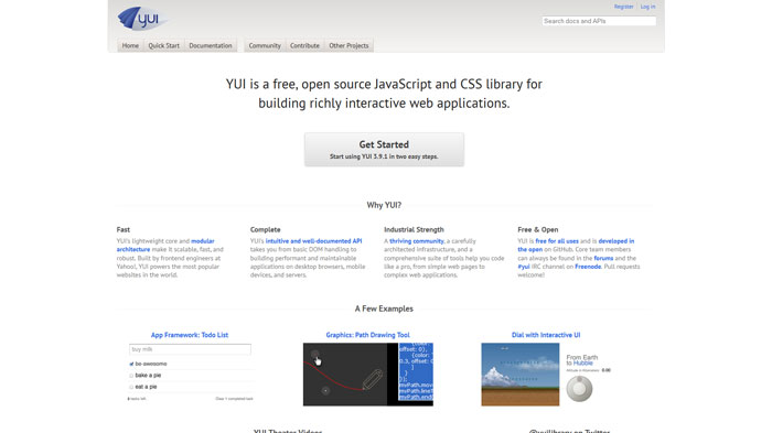 YUI Popular CSS Library