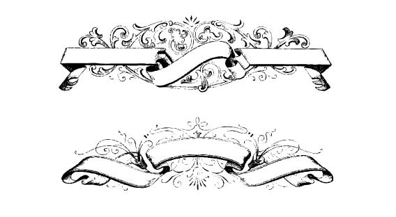 Photoshop ribbon banner shape free vector download (23,365 ...