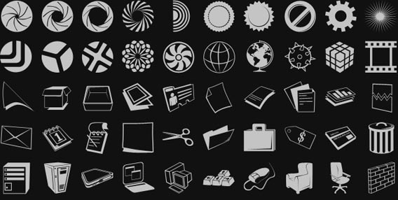 The ONLY Photoshop Custom Shapes You'll Need To Download [53