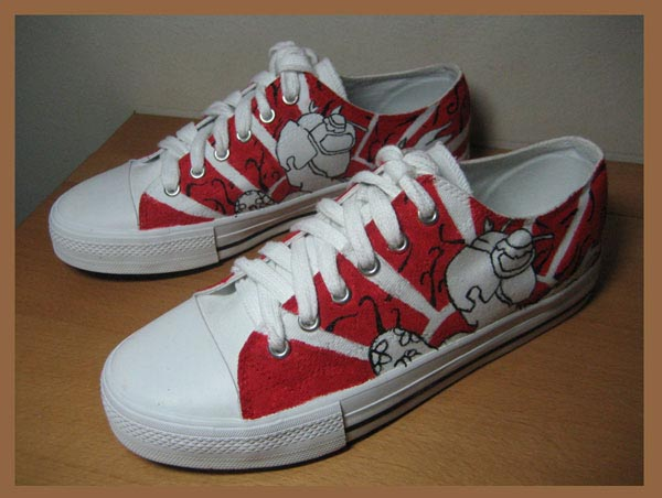 Customised Sneakers 02