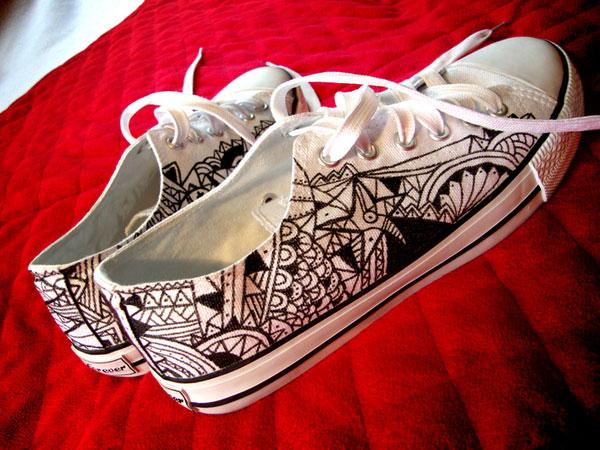 paint shoe