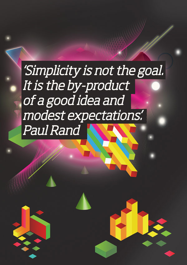 Simplicity inspirational quote
