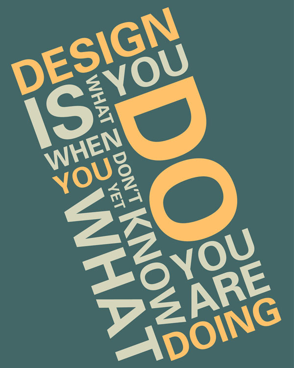 Design inspirational quote