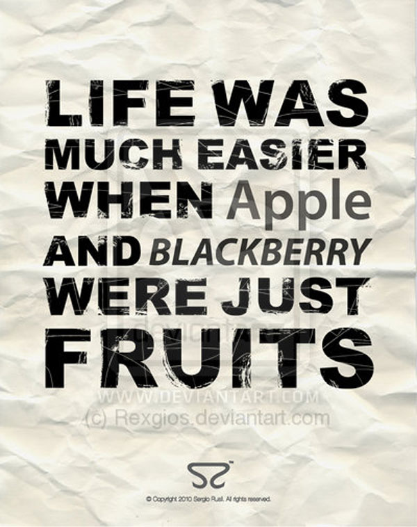 Fruits inspirational quote