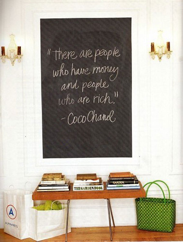 There are people who have money and people who are rich inspirational quote