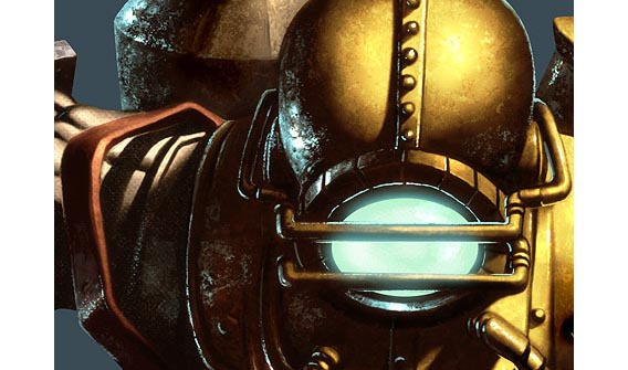 Bioshock Videogame Digital Painting Tutorial