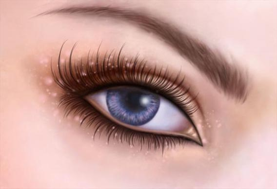 Painting fantasy eyes Digital Painting Tutorial