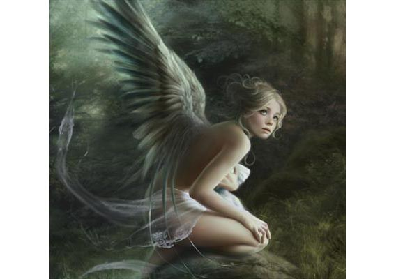 Feathers and Angel Wings Digital Painting Tutorial