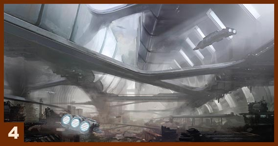 SciFi Environment Concept Digital Painting Tutorial
