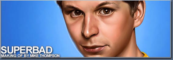 Making of Superbad Digital Painting Tutorial