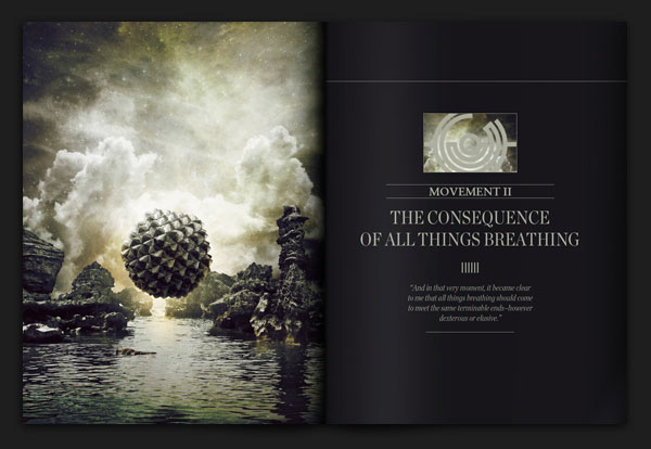 Do You Remember When This World Was Ours? Editorial Design Inspiration