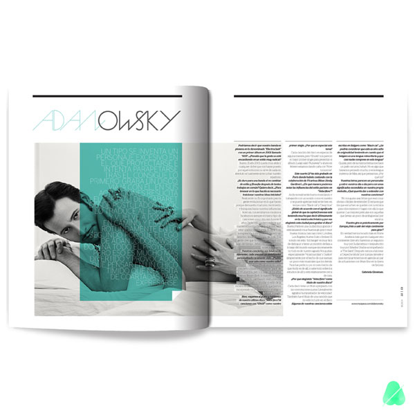 LADOS MAGAZINE Editorial Design Inspiration