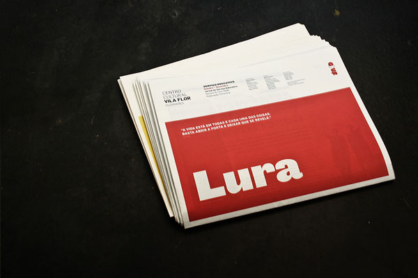Lura Editorial Design Inspiration