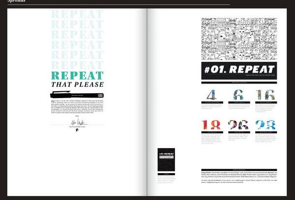 Repeat-magazine de creación de impresos, consejos y ejemplos