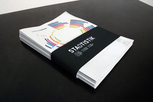 Stadtistik - City Statistics Editorial Design Inspiration