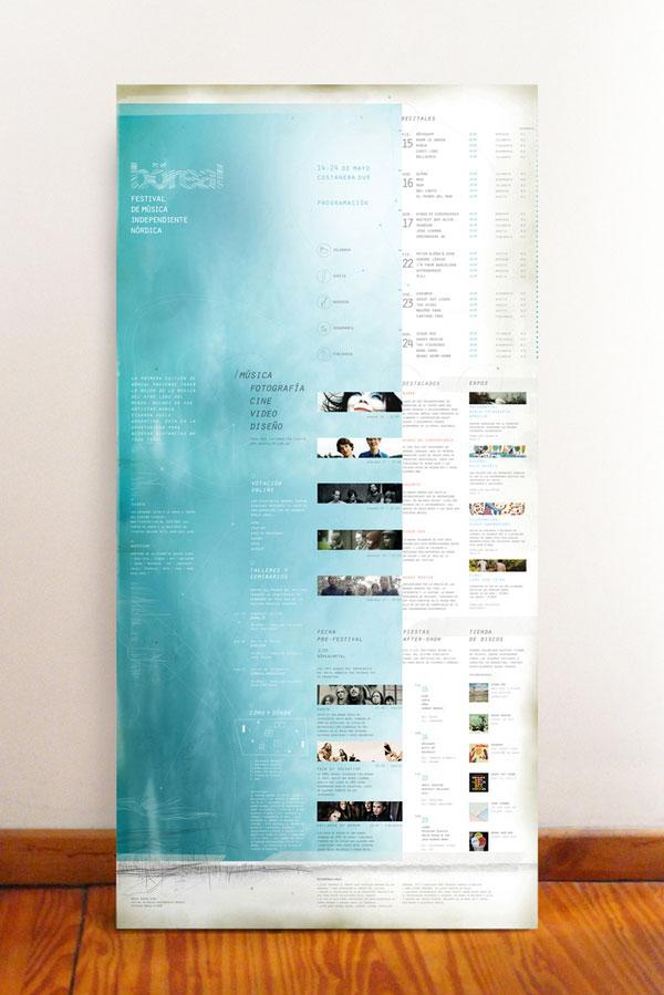 breal-festival-posters de creación de impresos, consejos y ejemplos