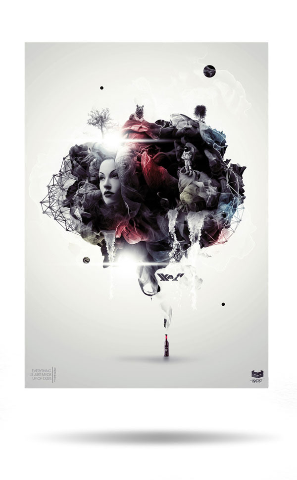 DUST Photoshop Design Inspiration