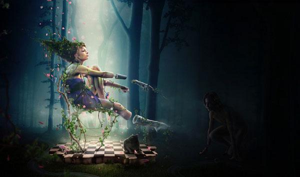 Locus Amoenus Photoshop Design Inspiration