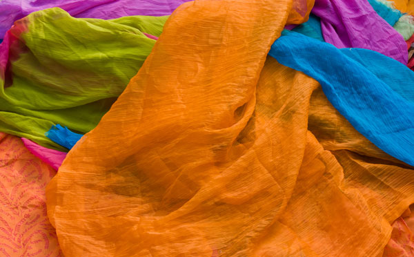 Colorful fabrics Free for Download