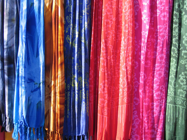 colourful batik shawls Free for Download